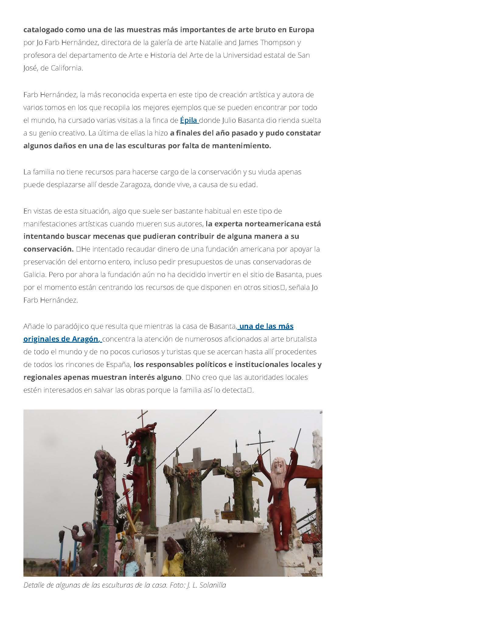 Incierto futuro para la 'Casa de Dios', de Épila, tras la muerte de su creador, Julio Basanta _ Heraldo.es_Page_2