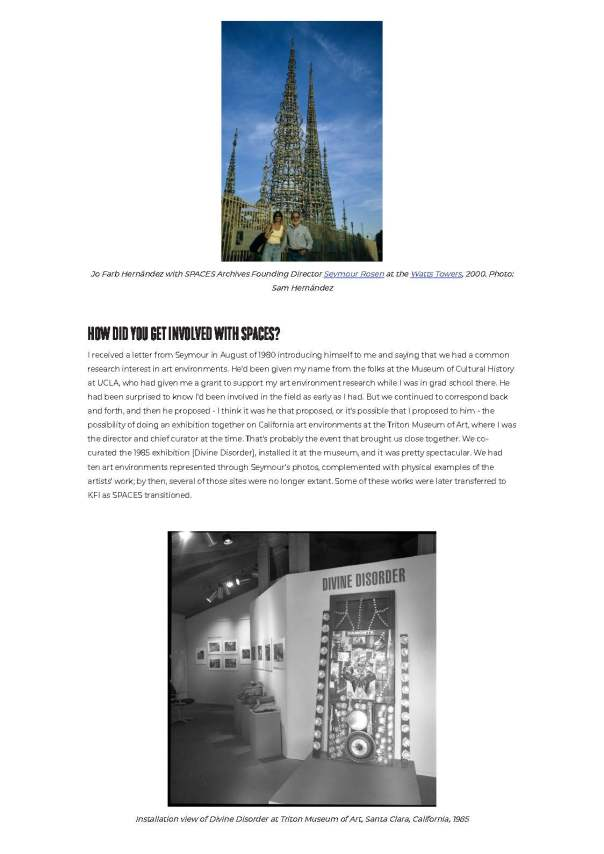 Interview with Jo Farb Hernández_ SPACES Director and Chief Curator Emerita _2_ SPACES_Page_2